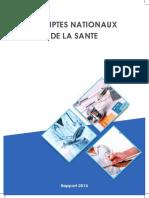 Comptes Nationaux de La Santé Rapport 2015
