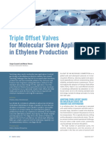 Triple Offset Valves for Molecular Sieve Applications en 1624714