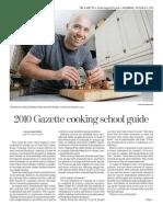 2010 Gazette fall cooking school guide