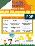 Horario Obras - Feria Del Ahorro 2018