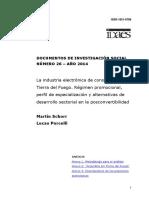 La Industria Electrónica de Consumo en Tierra Del Fuego (Version Final)