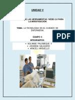 latecnologiaenelcuidadodeenfermeria-140824153026-phpapp01