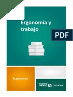 Ergonomia y Trabajo 1