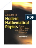 (E-Book)Physics - A Course in Modern Math. Physics - Groups, Hilbert Spaces and Differential Geometry - P. Szekeres (2004) WW