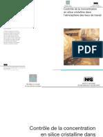 controle de consantration en sillice cristalc dans le lieux de travail.pdf