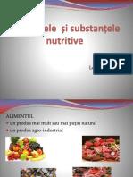 Alimentele Și Substanțele Nutritive