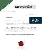 Invitación Luis Flores - PesadillaEV