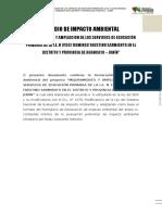 Estudio de Impacto Ambiental Sarmiento