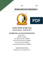 Documento Entregable Cota1