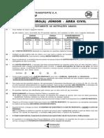 Cesgranrio 2006 Transpetro Engenheiro Junior Civil Prova