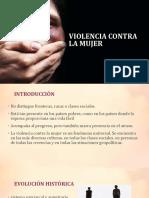 Violencia Contra La Mujer Presentacion