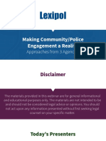 Community Police Engagement Slides