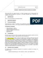 NB 587-1991, Determinación Total de Substancias Disueltas, Revisado
