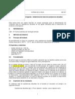 NB 587-1991, Determinación Total de Substancias Disueltas, Revisado