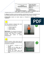 SSO P POE 18 (Transpaleta Manual)