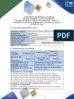 Guía de actividades y rúbrica de evaluación - Paso 2 - Desarrollar y presentar el diagnóstico y análisis inicial del estudio de caso (1).docx