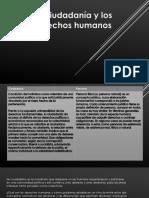 cuidadania y derechos humanos