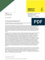 Amnesty Letter to Twitter 26 Jan 2018