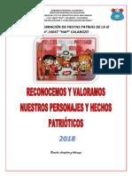 Plan de Fiestas Patrias PERU.