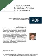 Los Estudios Sobre Masculinidades en América Latina