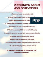 11 Things to Know About the New Gi Forever Bill