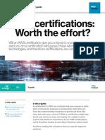 Certificaciones AW, Valen La Pena