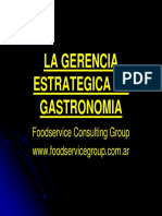Objetivos y Estrategias PPT solo de gastronomia