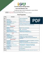 Programme Associate Members Day 2018 v5 Final