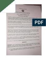 Auto Admisorio Demanda Yezid Sánchez