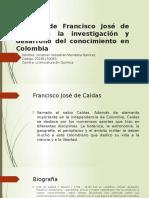 Aportes de Francisco José de Caldas