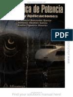 Electronica de Potencia-Teoria y Aplicaciones, - J. Manuel Benavent Garcia