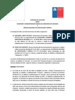 Convenio SENCE-hacienda 2018
