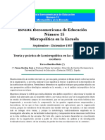 Micropolítica en La Escuela