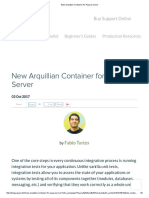 New Arquillian Container for Payara Server