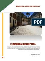 2.- Memoria Descriptiva Final