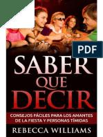 Saber Que Decir - Rebecca Williams.pdf