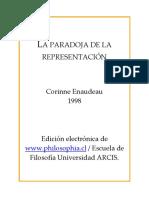 Corinne Enaudeau - La Paradoja de La Representacion.pdf