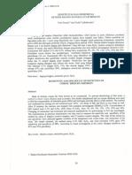 Sensitivitas & Spesifisitas Uji Malachite Green Pada Daging