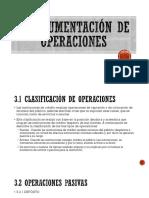 Instrumentación de Operaciones