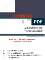 Tutora - Libras 1 - Dia 17 de Maio - Power Point