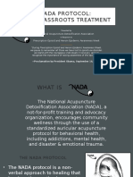 NADA Protocol the Grassroots Treatment