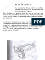 Presentacion Moto Bateria