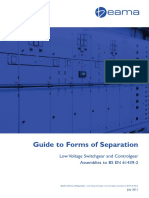 Guide to Forms of Separation 2011