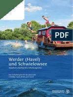 Broschüre Werder (Havel) und Schwielowsee