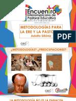 9. Metodologías Para La Ere y Pastoral