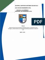 Determinación Del Porcentaje de Agregado Grueso y Agregado Fino