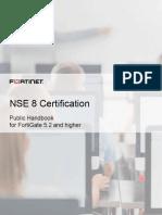 NSE 8 Certification Public Handbook 2017