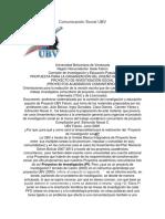 Comunicación Social UBV