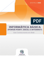 Informática Básica (Power Point, Excel e Internet)