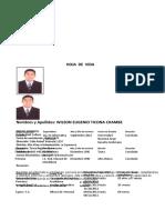 Formato CV UGEL